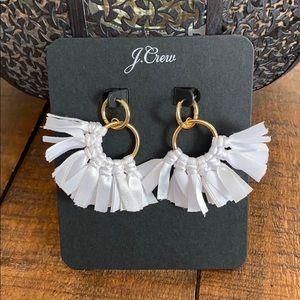 J. Crew Conga Fabric Earrings